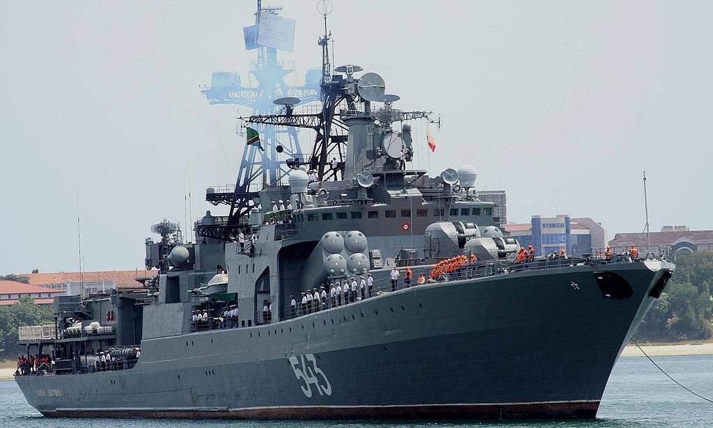 Вооруженный до зубов: Россия представила огромный фрегат - Флот 2017